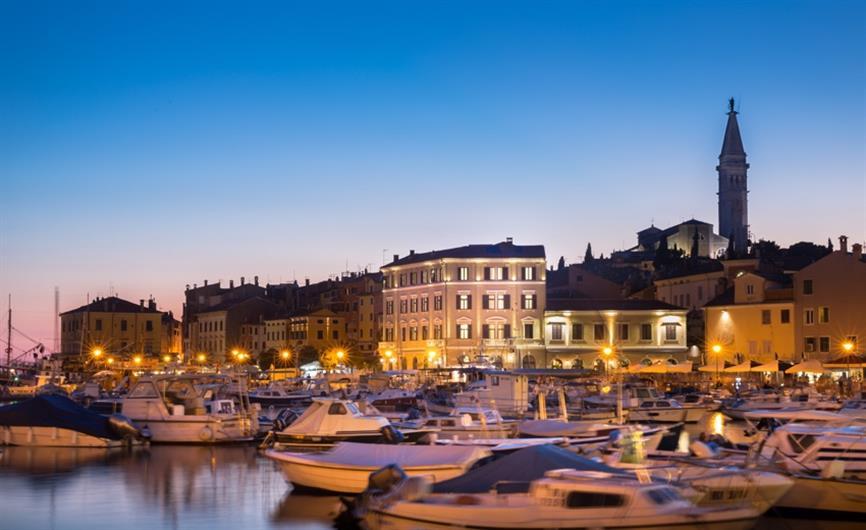 Hotel adriatic boutique hotel in rovinj tailor made self for Boutique hotel intermezzo 4 pag croatie