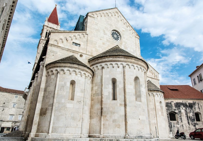 Trogir cathedral (Croatia Tourist Office)