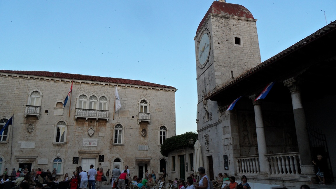 Historic Trogir palaces