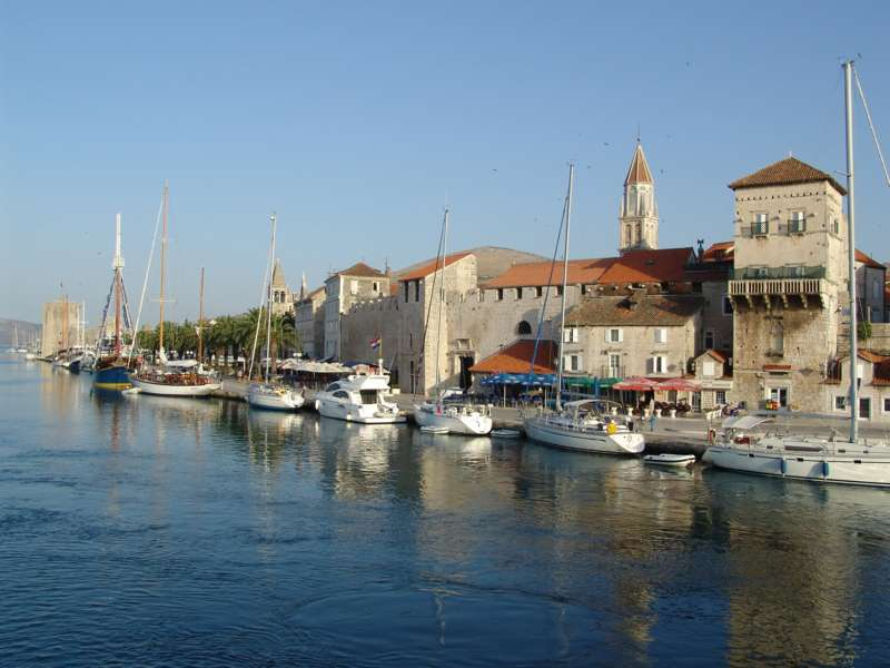 Trogir waterfront