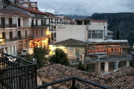 Delphi, mainland Greece.
