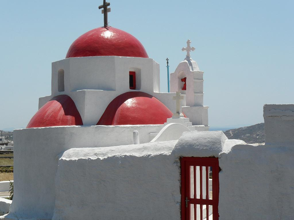 Church, Mykonos