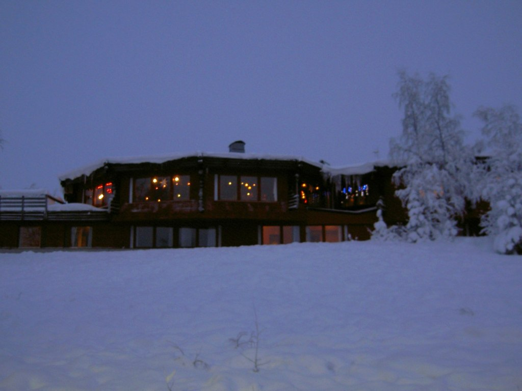Davvi Arctic Lodge Hotel Karesuando Lapland The