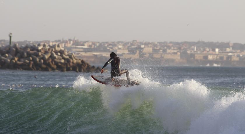 Morocco's coast is ideal for surfing