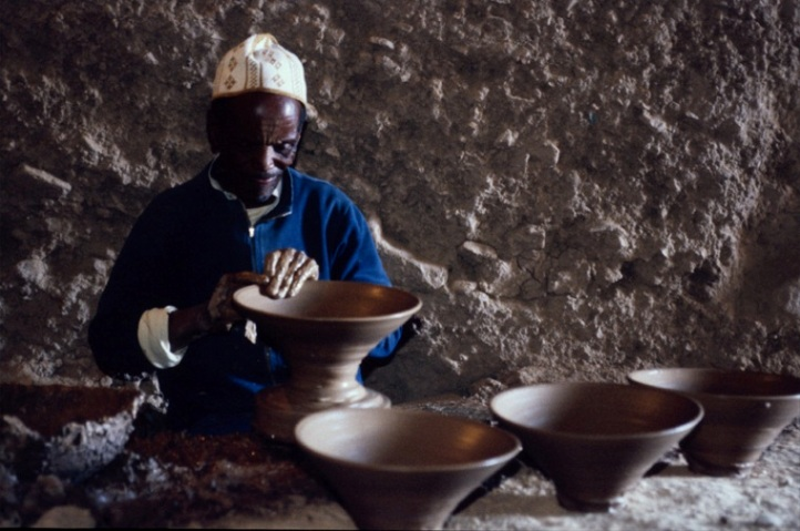 Traditional Pottery making in Morocco