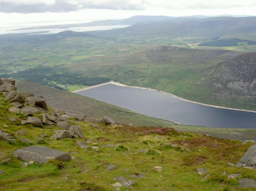 Northern Ireland - Silent Valley in Mourne Mountains